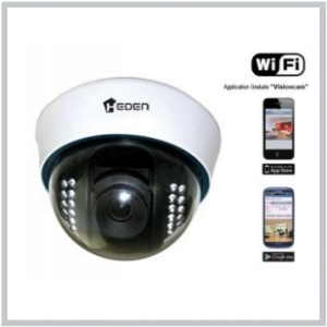 Camera IP VisionCam Wifi, modèle dome interieur, V.7.1.3