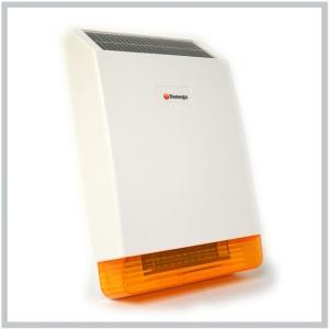 Sir ne exterieur solaire sans fil 120 db avec flash for Sirene exterieur