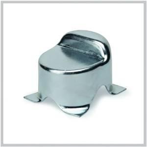 but e de fermeture moulure acier pour portail battant sceller h75 20. Black Bedroom Furniture Sets. Home Design Ideas